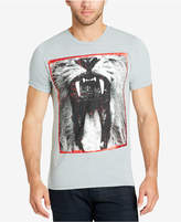 William Rast Men's Growl of a Lion Graphic-Print T-Shirt