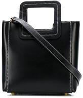 STAUD 079043 BLK Leather/