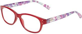 SAV Eyewear (Select-A-Vision) VK Couture Fashion Round Reading Glasses 1303 Pastel Purple 1.75
