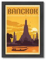 Americanflat Bangkok Vintage Travel Framed Wall Art