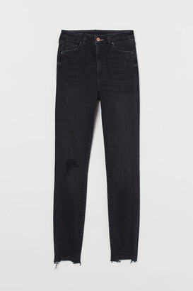 H&M Embrace High Ankle Jeans - Black