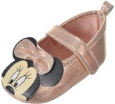 """Disney Minnie Mouse Baby Girls' """"Sweet Shimmer"""" Booties"""
