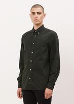 Acne Studios black isherwood poplin shirt