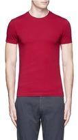 Armani Collezioni Slim fit cotton T-shirt