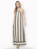 Splendid Capistan Rugby Stripe Maxi Dress