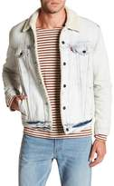 Levi's Type 3 Faux Shearling Lined Snow Crab Trucker Jacket