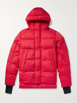 Canada Goose Armstrong Packable Quilted Nylon-Ripstop Hooded Down Jacket - Men - Red