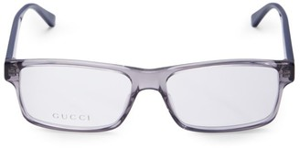 Gucci 56MM Rectangular Optical Glasses