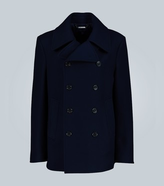 Ralph Lauren Purple Label Wool and cashmere-blend peacoat