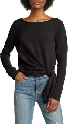 Allude Pull Through Twist Cashmere Sweater