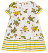 Marni Short Sleeve Floral Dress