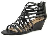 American Rag Amariel Women Open Toe Synthetic Black Wedge Sandal.
