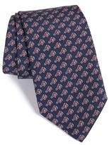 Vineyard Vines Men's 'Atlanta Braves - Mlb' Print Silk Tie