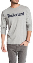 Timberland Long Sleeve Linear Logo Shirt