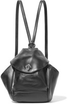 Manu Atelier - Fernweh Mini Leather Backpack - Black