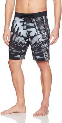 RVCA Young Men's Ancell Flora Trunk Shorts
