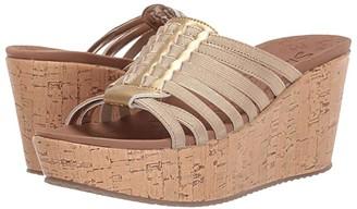 Skechers Brit - Girl Wonder (Gold) Women's Sandals