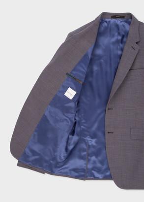 Paul Smith The Kensington - Men's Grey Puppytooth Wool Suit