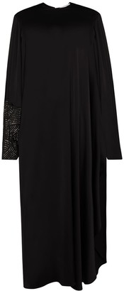 Stella McCartney Aliyah crystal-embellished maxi dress