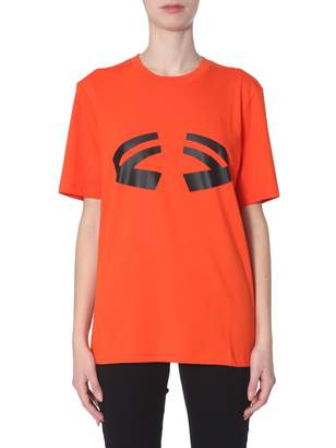 Helmut Lang t-shirt with halloween print