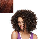 LuxHair NOW by Sherri Shepherd Lace Front CURL-INTENSE, Natural Black & Light Auburn 1 ea