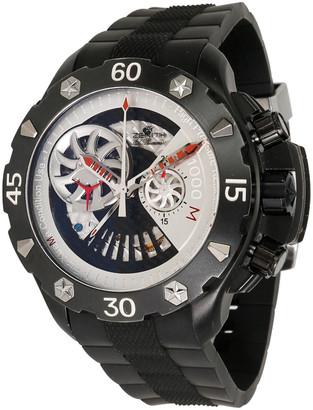 Zenith Silver Titanium and Rubber Defy Extreme 96.0525.4021/21.R642 Men's Wristwatch 46MM