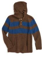 Boy's Peek Granada Hooded Sweater
