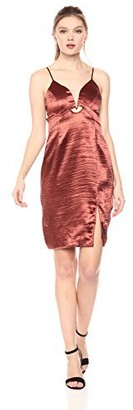 ASTR the Label Women's Amira Sleeveless Shiny Dress