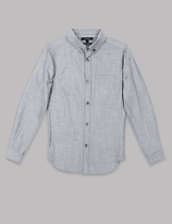 Autograph Pure Cotton Long Sleeve Shirt (3-14 Years)