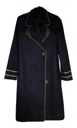 Silvian Heach Navy Wool Coats