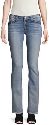 True Religion Logo Faded Jeans