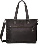 Hedgren 14.1 Zirconia Tote (Special Black) Handbags