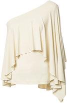 Plein Sud Jeans asymmetric draped top - women - Spandex/Elastane/Rayon - 40