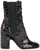 Laurence Dacade sequin embroidered boots