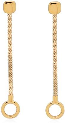 Monica Vinader x Doina Chain Linear Drop Earrings