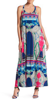 Julian Chang Emily Print Jersey Dress