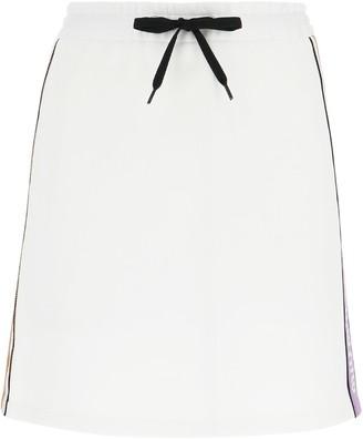 Miu Miu Drawstring Waist Skirt