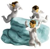 Lladro Small Angels' Rock Porcelain Accessory