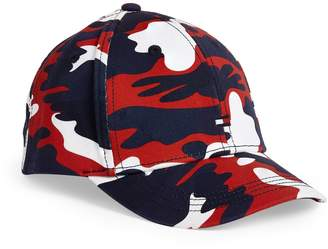 Tommy Hilfiger Junior Camouflage Print Baseball Cap