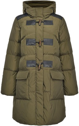 Pinko Quilted Duffle-Style Coat