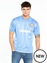 Score Draw Manchester City 1984 Home Shirt