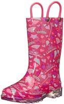 Western Chief Lovely Princess Light-Up Rain Boot (Toddler/Little Kid/Big Kid)