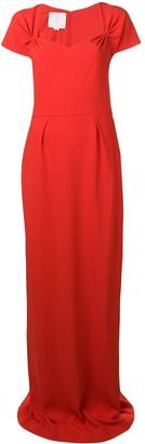 Stella McCartney Sweetheart Neckline Gown
