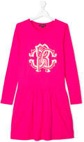 Roberto Cavalli Teen branded dress