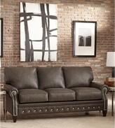 Chocolate Leather Sofa Shopstyle