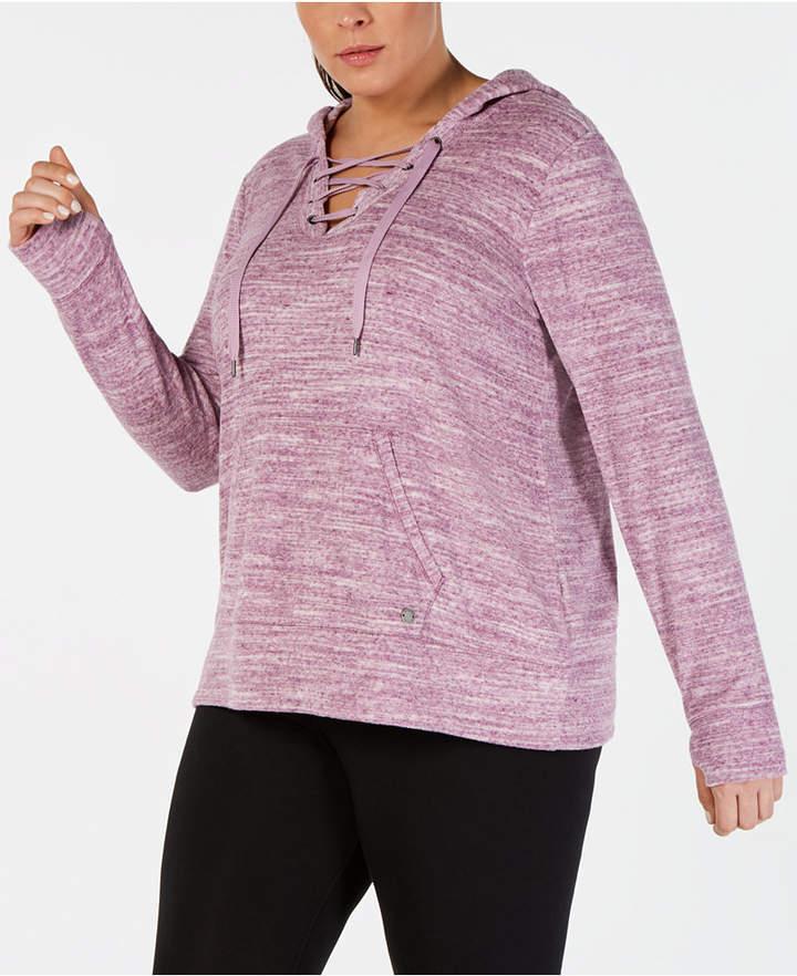 c2a8804c9ae Purple Plus Size Sweatshirts - ShopStyle