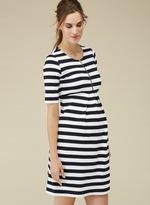 Isabella Oliver Baywood Striped Maternity Dress