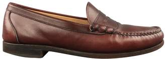 N. Non Signé / Unsigned Non Signe / Unsigned \N Brown Leather Flats