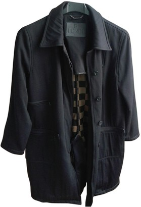 Fendi Black Coat for Women Vintage