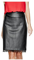 G by Guess GByGUESS Women's Ahrielle Faux-Leather Skirt